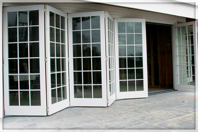 Gallery For Exterior Glass Bifold Doors